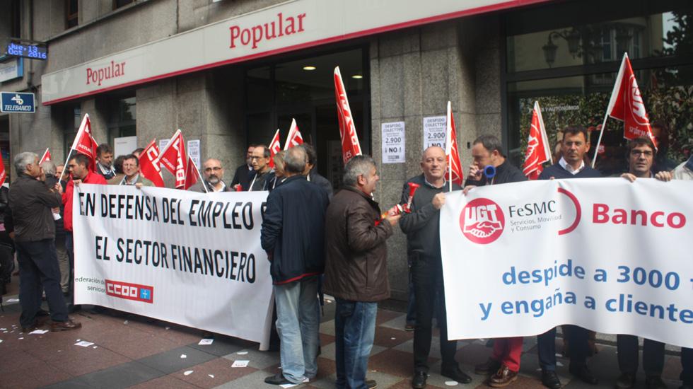 las consecuencias del ere del banco santander en asturias