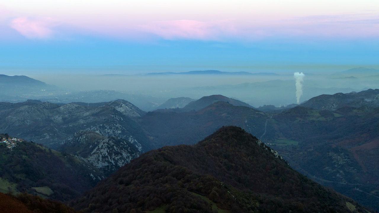 El buen tiempo estanca la contaminaci n sobre oviedo y siero - El tiempo en siero asturias ...