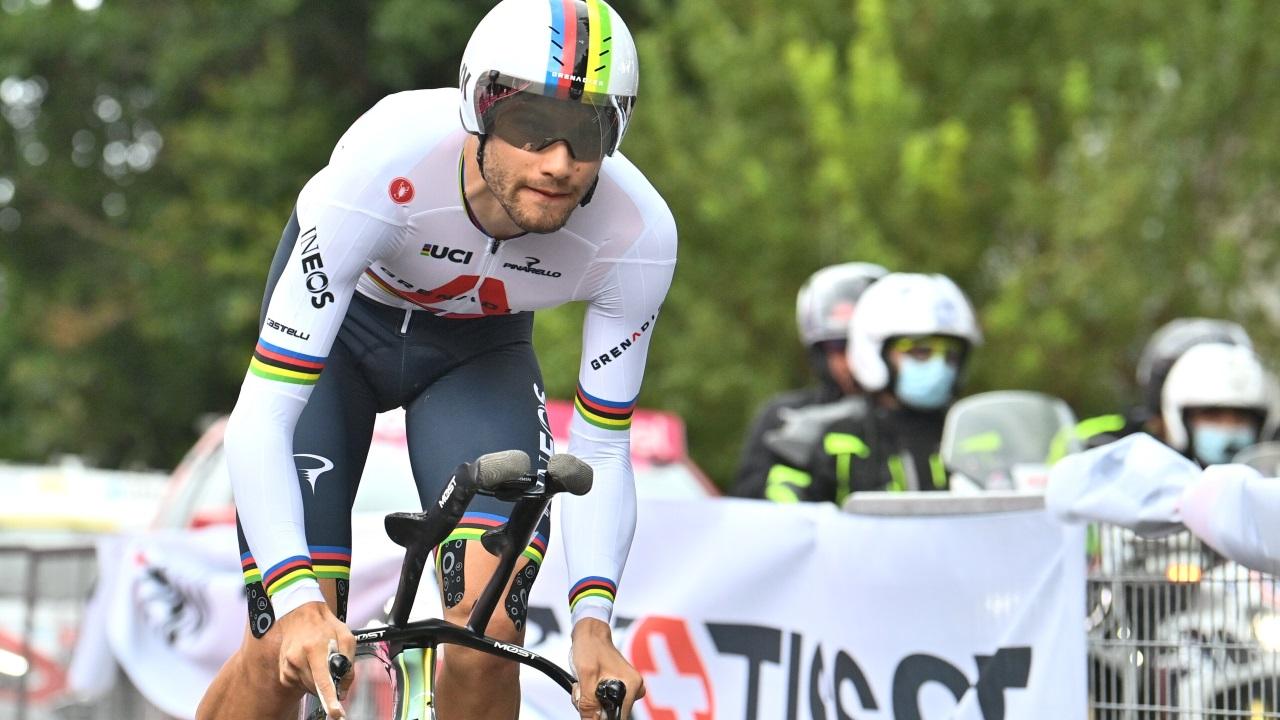Comienza el Giro con Filippo Ganna como primera maglia rosa