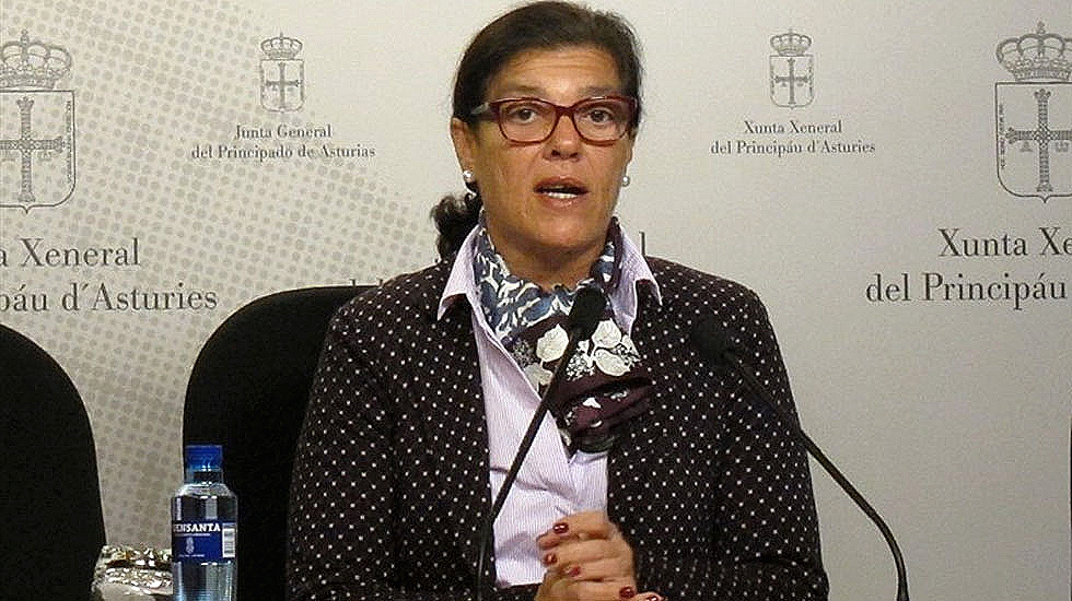La diputada del PP en la Junta General, Carmen Pérez García