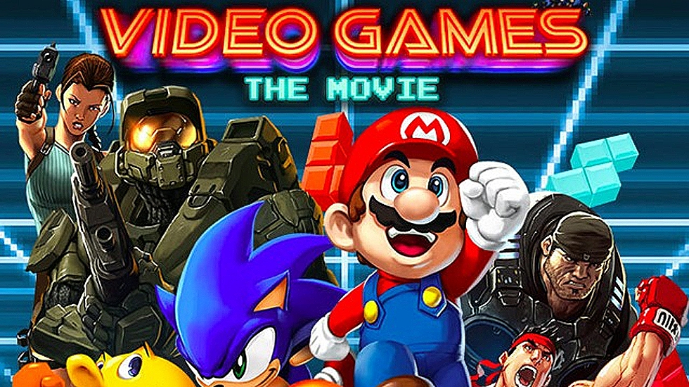 Imagen promocional de «Videogame: the movie»
