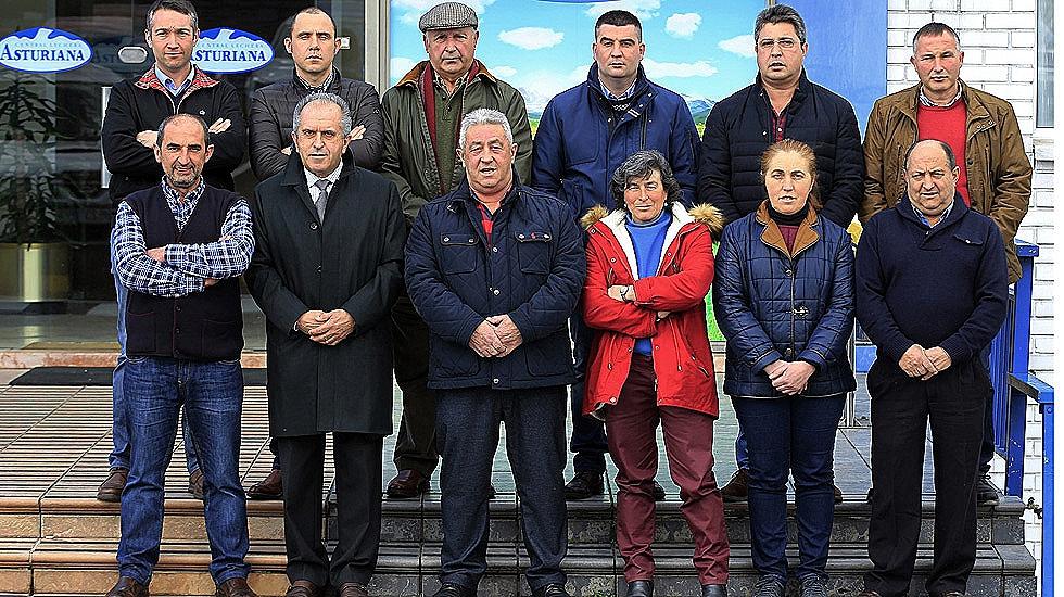 La nueva junta rectora de la Central Lechera